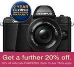 Olympus E-M10 Mark II (14-42mm) Mirrorless Camera $599.08 @ No Frills Cameras eBay