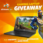 Win an MSI Gaming Laptop from StreamMe