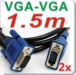 2x VGA Cables 1.5m for $5.90 Postage Included