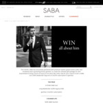Win an 'All About Him' Prize Pack Worth $2,800 or 1 of 3 SABA/gentSac Vouchers Worth $250 from SABA