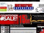 Motor Sport Super Store 48 hour sale 15% off storewide