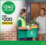 Woolworths Online eVouchers | $170 for $127.50 | $240 for $170 | $350 for $255 | @ eBay UK