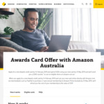 $200 Amazon.com.au Voucher (after $500 Spend) + 1 Year Prime Cashback on New Commonwealth Bank Awards Credit Cards