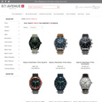 50% off all Alpina Swiss (Quartz & Automatic) Watches at 8th Avenue Watch Co. (Delivered)
