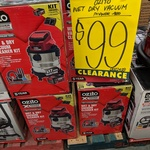 Ozito (PowerXChange) 18V Lithium Ion Wet and Dry Vacuum Kit PXVWDK-400 $99 @ Bunnings