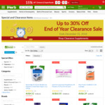 Up to 30% off Clearance Sale @ iHerb