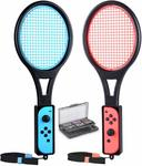 [Switch] Tennis Racket for Joy-Con with 12 in 1 Game Case $13.99 + Delivery (Free with Prime/ $49 Spend) @ Tendak Amazon AU