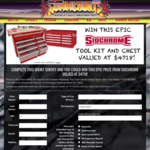 Win a Sidchrome 382-Piece Metric AF Tool Kit & 8-Drawer Widebody Top Chest Worth $4,718 from Summernats