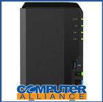 [eBay Plus New Members] 2 Bay Synology DS218+ 2GB DiskStation Gigabit NAS Unit $381.65 Delivered @ Computer Alliance eBay