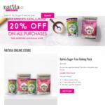 20% off Natvia Sugar-Free Packs @ Natvia Online Shop w/ Free Shipping
