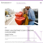[QLD] Free Childcare on Valentine's Day from 5:30pm-9pm at Event Cinemas, Indooroopilly Shopping Centre for Children Aged 3+