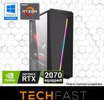 Ryzen 5 2600 RTX 2060 6GB Gaming PC Bundle: $1039.20 / Threadripper 1920X 2080Ti 11GB PC: $2799 Delivered @ TechFast eBay