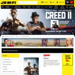 20% off Blu-Rays, DVDs and 4K UHDs at JB Hi-Fi