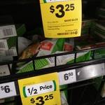 ½ Price - Vegie Delights Frozen Tender Crumber Schnitzels or Not Burgers $3.25 @ Woolworths