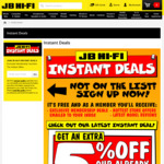 Newsletter Offer - Extra 5% off Coupon @ JB Hi-Fi