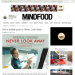 Win 1 of 10 Double Passes to 'Never Look Away' Worth $40 from MiNDFOOD