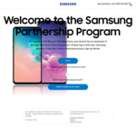 $150 off for Purchase over $1000 @ Samsung Partnership Program Portal S10 Hybrid 512gb $950/S10 Plus 512GB Hybrid $1052