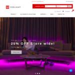 25% off Storewide, Smart Home Lighting Products (Yeelight Smart LED Colour Bulb $22.50 + Delivery) @ Yeelight Australia
