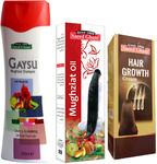 10% off Saeed Ghani Herbal Hair Growth Gaysu Mughziat Shampoo, Hair Oil + Cream  $57.17 Delivered @ Asia Super Mall via Fishpond