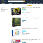 [Amazon Prime] Board Games: Agricola $53.32, ONUW $16.78, Photosynthesis $34.22, Patchwork $28.92 Delivered @ Amazon AU