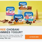 Free Chobani Gimmies 140g Greek Yogurt @ Woolworths (Rewards Members)
