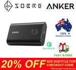 20% off Storewide - Anker PowerCore+ 10050mAh QC3.0 USB Power Bank $55.96 Delivered @ SOBRE eBay