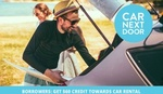 $10 for $60 of Car Next Door Driving Credit (New Members Only) @ Groupon