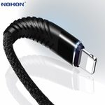 NOHON $0.01 3m Long Lightning Cables or 1.2m 2in1 (Micro/Lightning), $0.19USD 3in1 (with USB-C) (New Users) @ AliExpress
