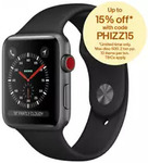Apple Watch Series 3 42mm Cellular $441, LG Watch W7 $175, Moto Z2 Play $289.95, Meizu M6T $157 + More @ Allphones eBay