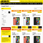 [Pre Order] Bonus $150 JB Hi-Fi Coupon with Google Pixel 4 & 4 XL @ JB Hi-Fi