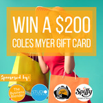Win a $200 Coles Myer Gift Card from The Business Blender