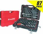 Toolpro 87 Piece Tool Kit $94.99 @ Supercheap Auto