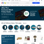 15% off Eligible Items for eBay Plus Members / 10% for Non eBay Plus ($120 Min Spend, $200 Max Discount) @ eBay