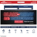 25% off Tickets and Passes @ Greyhound Australia