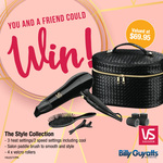 Win 1 of 2 VS Sassoon Style Collection Packs Worth $69.96 from Billy Guyatts