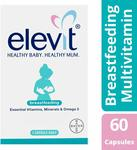 Elevit Breastfeeding Multivitamin Capsules 60 Pack $12.36 (Was $30.59) + Delivery ($0 With Prime / $39 Spend) @ Amazon AU