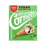 Streets Vegan & Dairy Free Cornetto 360ml Pk 4 $4.50 @ Woolworths