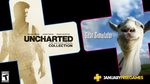 [PS4] PlayStation Plus January 2020 - Uncharted: The Nathan Drake Collection & Goat Simulator
