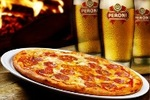 $47 All-You-Can-Eat-Pizza and Unlimited Peroni Beer on Tap for 2 (Vic)