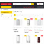 Air Purifiers: SHARP IGA10J $99, Philips AC1215/70 $299, Breville LAP150WHT $219 + More @ Various Retailers