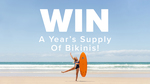 Win 1 of 3 'Years Supply of Bikinis' Valued at $1000 from Rip Curl
