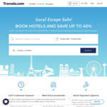 Local Escape Sale - up to 40% off Hotels, Price Match, All Booking.com Listings and Price Match @ Travala