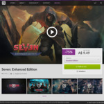 [PC] DRM-free - Seven: The Days Long Gone Enhanced Edition $9.49/Dawn of Man $25.19/Staxel $11.99 - GOG