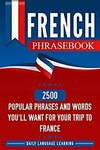 """[eBook] Free: """"French Phrasebook: 2500 Popular Phrases and Words"""" $0 @ Amazon"""