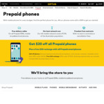 Free $30 Recharge When Activating All Optus Branded Prepay Smart Phones (e.g. Optus X Start $59 at Coles) @ Optus