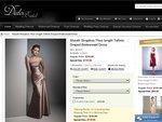 $10 off - Sheath Strapless Floor-Length Taffeta Draped Bridesmaid Dress for $109.00+ $30 Shipping