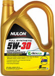 Nulon 5w-30 Fully Synthetic Engine Oil 5L $45.49 Usually $64.99 (Free C&C / $5 Delivery) + More @ Supercheap Auto