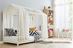 [Pre Order] Ovela Ohio Kids House Bed (White) $129.99 + Delivery @ Kogan