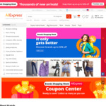 US$5 off US$35 Spend + More @ AliExpress