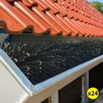 24x Gutter Brush Guard 10cm x 92cm $74.99 Delivered @ Warehouse Ocean